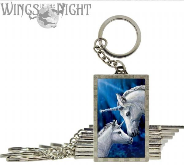 NEMESIS NOW Sacred Love Unicorn 3D Keyring
